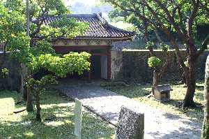 沖縄・首里の円覚寺跡
