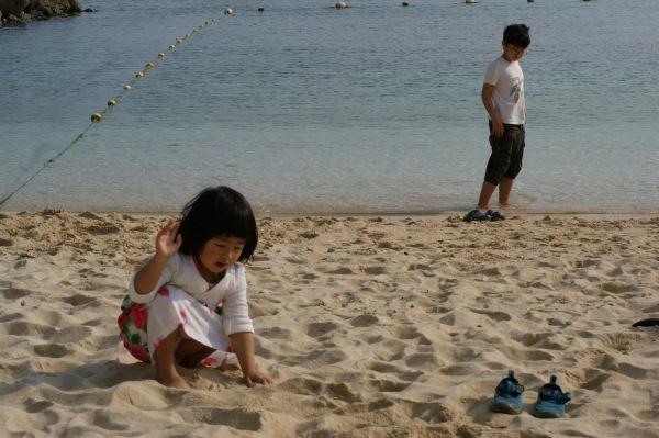 ルネッサンスリゾート沖縄のビーチ
